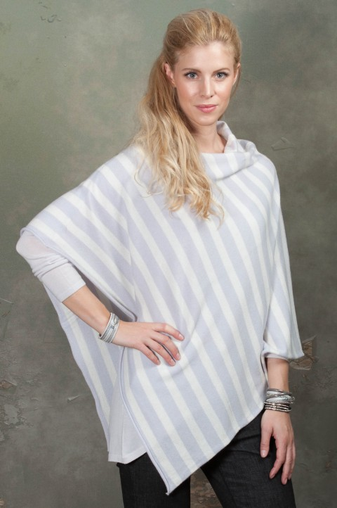 PONCHO MILLA STRIPED